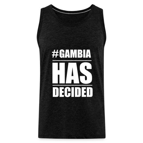GAMBIA_HAS_DECIDED - Men's Premium Tank Top