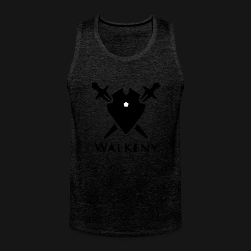 Walkeny Schwert Logo! - Männer Premium Tank Top
