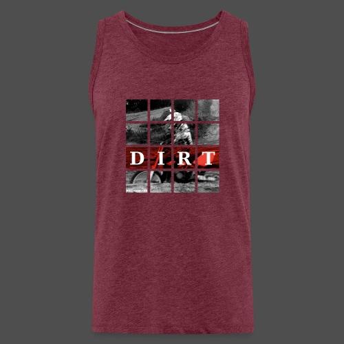 Dirt RD 19 - Tank top męski Premium