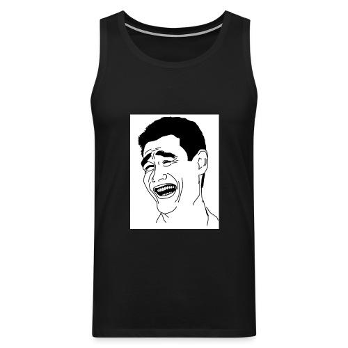 Yao Ming Face Bitch Please - Tank top męski Premium