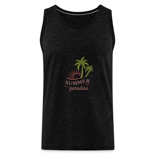 Summer paradise - Men's Premium Tank Top