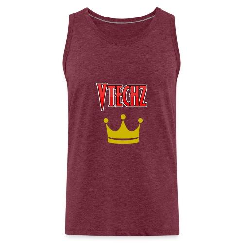 Vtechz King - Men's Premium Tank Top
