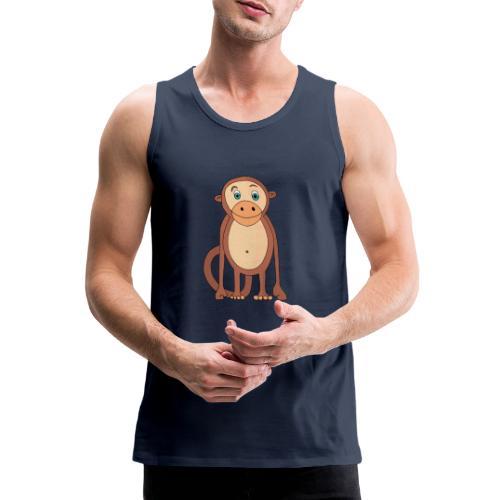 Bobo le singe - Débardeur Premium Homme