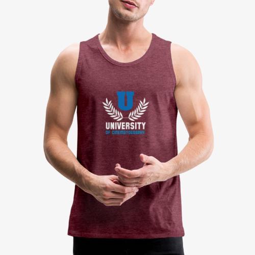University 5 - Tank top premium hombre