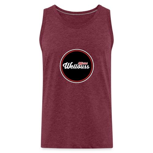 Wellouss Fan T-shirt | Rood - Mannen Premium tank top