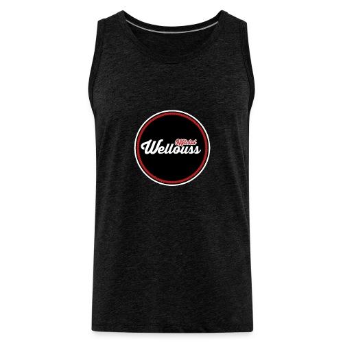 Wellouss Fan T-shirt   Rood - Mannen Premium tank top
