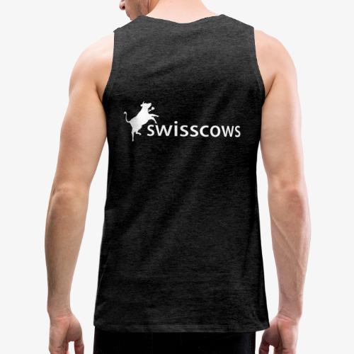 Swisscows - Logo - Männer Premium Tank Top