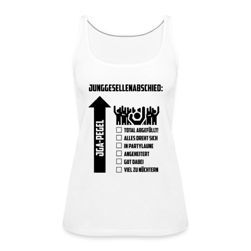 JGA-Pegel - Frauen Premium Tank Top