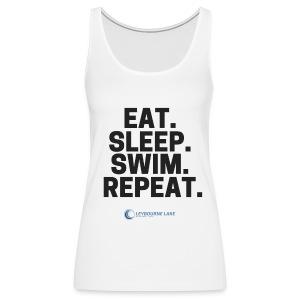 EAT. SLEEP. SWIM. REPEAT. - Women's Premium Tank Top