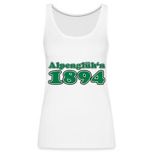 1894 Alpenglüh'n individualisierbar - Frauen Premium Tank Top