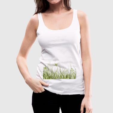 prato verde - Canotta premium da donna