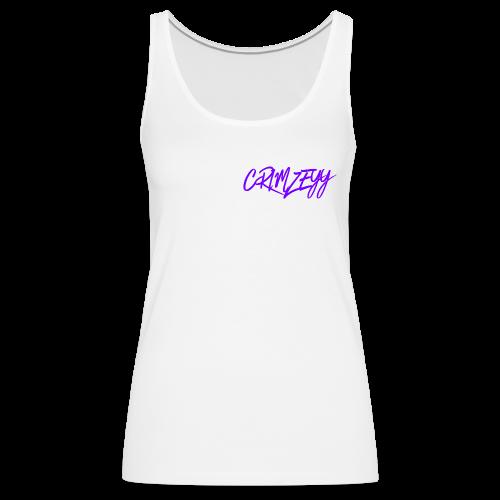 Brush Crimzeyy - Women's Premium Tank Top