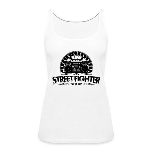 Street Fighter - Bandlogo (Black) - Frauen Premium Tank Top