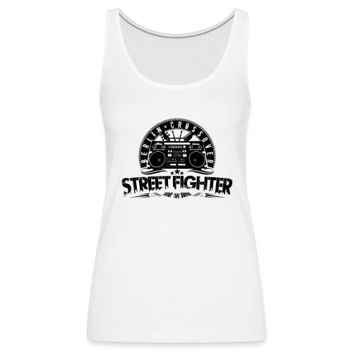 Streetfighter - Bandlogo (Black) - Women's Premium Tank Top