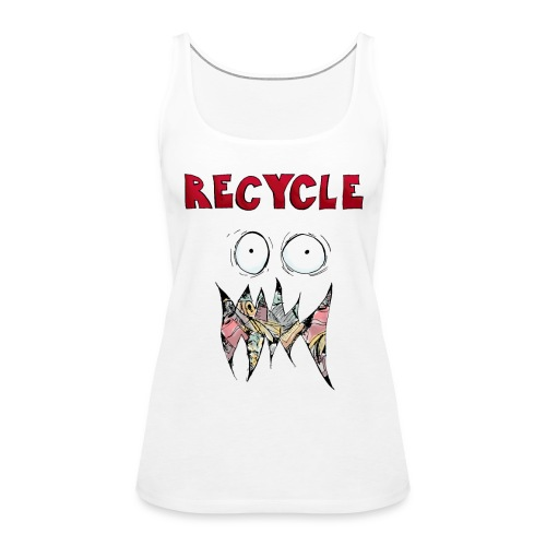 Recycle! - Vrouwen Premium tank top
