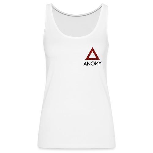 Anony Logo - Camiseta de tirantes premium mujer