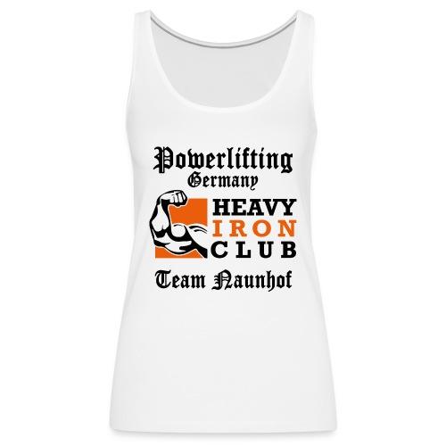 Heavy Iron Club Team-Logo für hellen Untergrund - Frauen Premium Tank Top