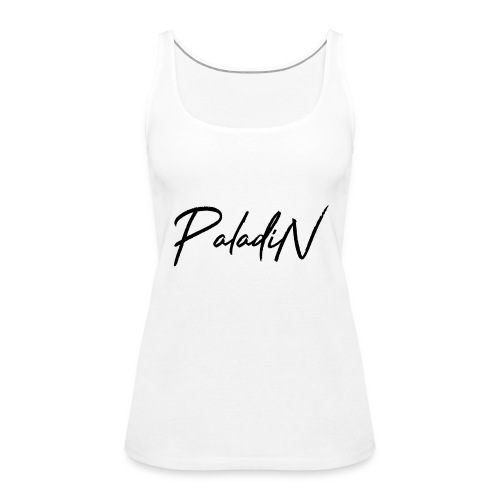 MErch weuss - Frauen Premium Tank Top