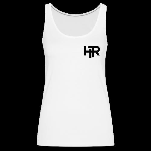 HR Logo black - Débardeur Premium Femme