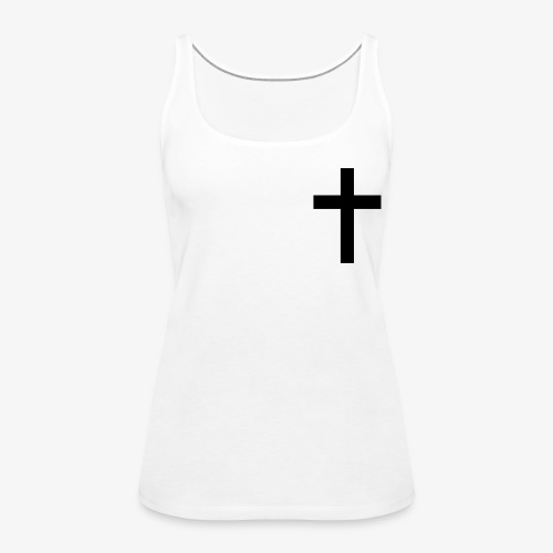 Christian cross - Women's Premium Tank Top