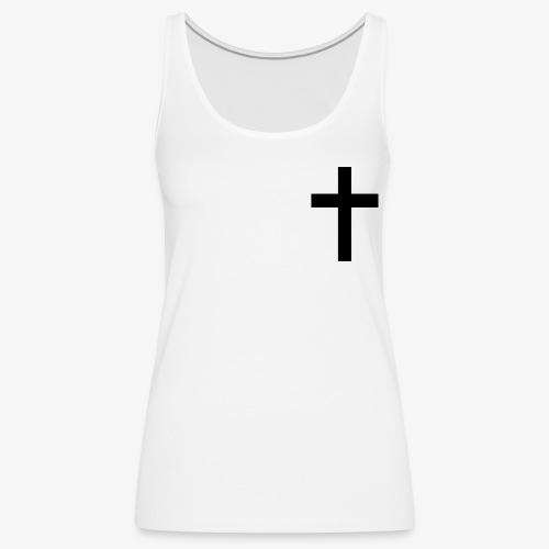 Christian cross - Women's Premium Tank Top