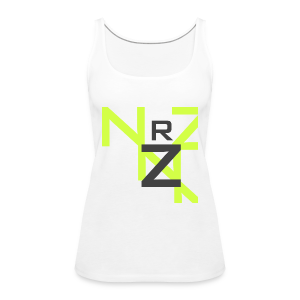 Nörthstat Group™ Clear Transparent Main Logo - Women's Premium Tank Top