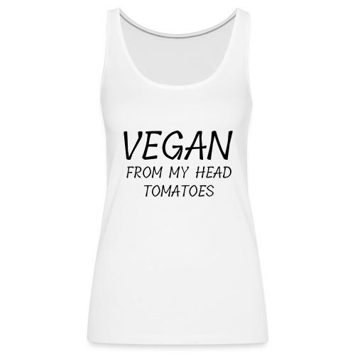 Vegan Lover Shirt - Frauen Premium Tank Top