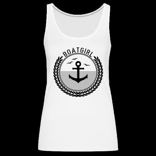 BoatGirl - Anchor - Frauen Premium Tank Top