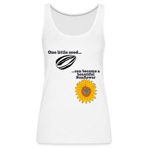 One little seed - Women's Premium Tank Top
