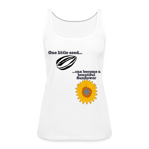 One little seed - Women's Premium Tank Top