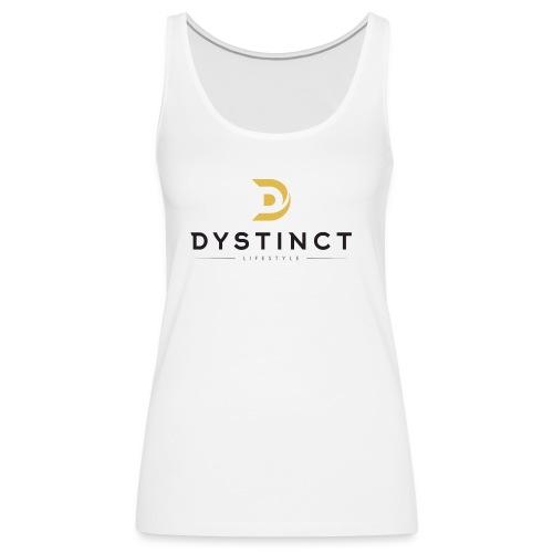 Dystinct Large Logo - Women's Premium Tank Top