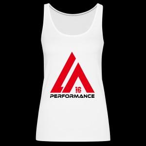 LA Performance red/black - Frauen Premium Tank Top