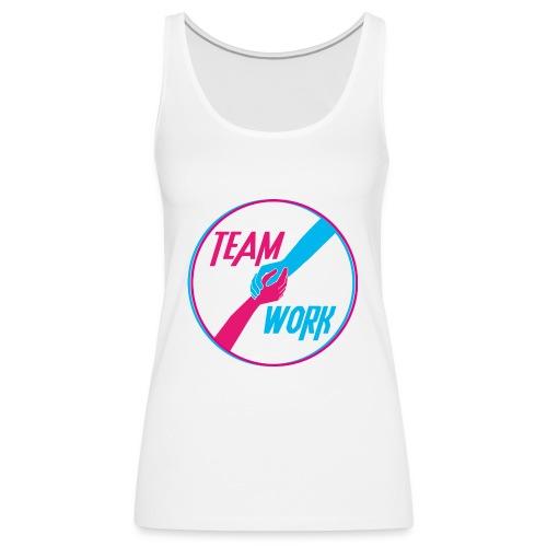 motivation équipe travail ensemble - Débardeur Premium Femme