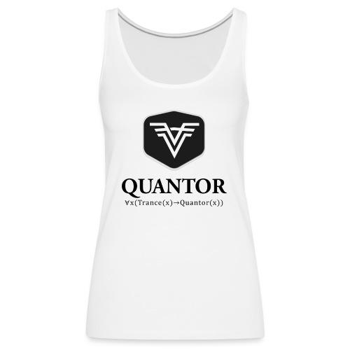 Quantor Logo Black - Frauen Premium Tank Top
