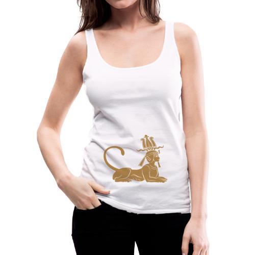Ägyptische Sphinx - Frauen Premium Tank Top