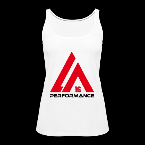 LA Performance red/black - Frauen Premium Tank Top