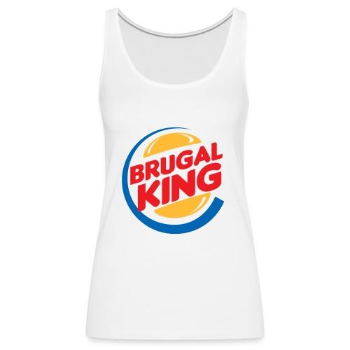 Brugal King - Camiseta de tirantes premium mujer