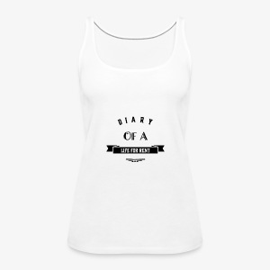 Diary of a life for rent by FMD Designs - Women's Premium Tank Top