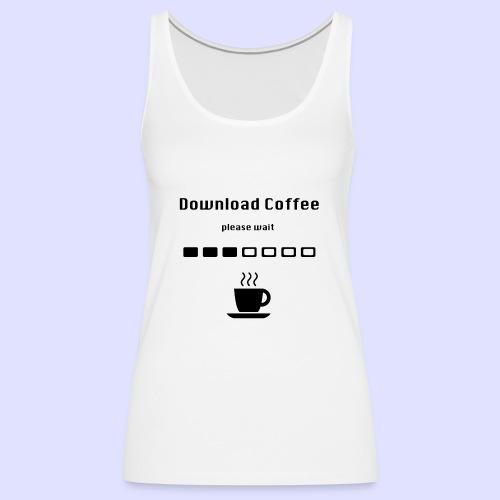 Download Coffee - Frauen Premium Tank Top