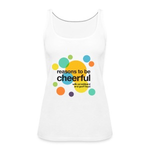 RTBC logo + names (light background) - Women's Premium Tank Top