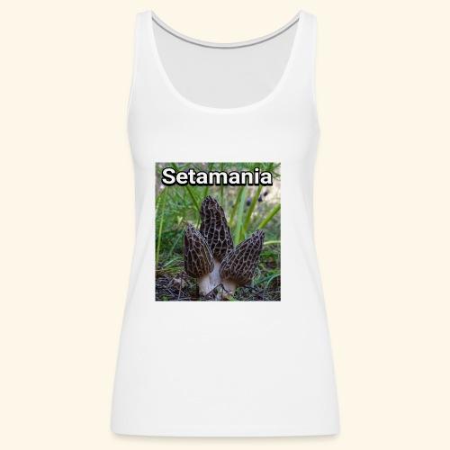 Colmenillas setamania - Camiseta de tirantes premium mujer