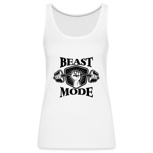 Beast Mode - Frauen Premium Tank Top