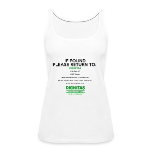 dignitas - If found please return - Women's Premium Tank Top