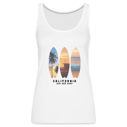 Cali Palms - Camiseta de tirantes premium mujer