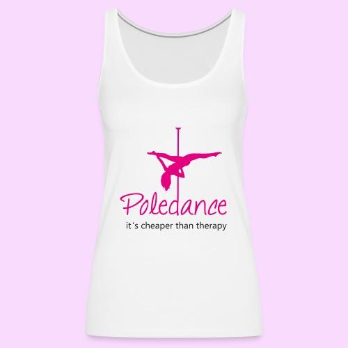 Poledance - Frauen Premium Tank Top