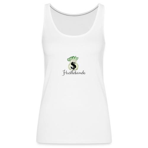Hustlebande Logo - Frauen Premium Tank Top