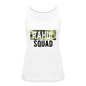 RahulSquad Official Camo T-Shirt - Women's Premium Tank Top