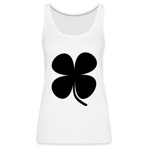 CLOVER - Camiseta de tirantes premium mujer