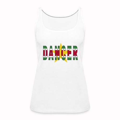 SURINAMESE DANCER - Women's Premium Tank Top