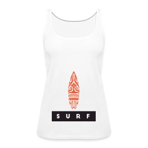 Surfing Hero by Te-Moana - Frauen Premium Tank Top